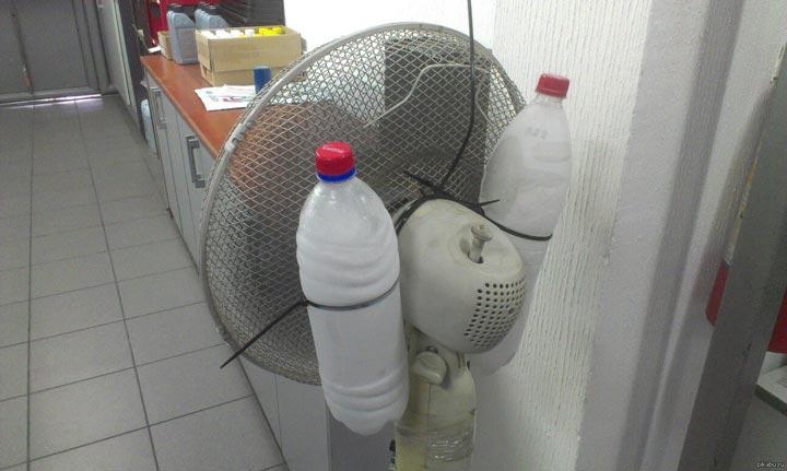 кондиционера своими руками из напольного вентилятора