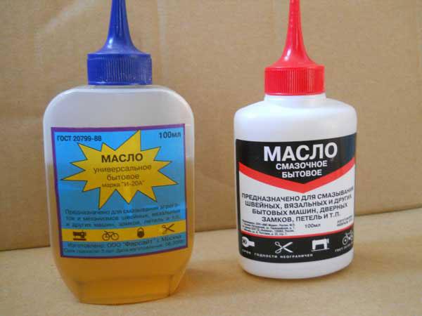 машинное масло и силиконовая смазка для подшипников вентилятора
