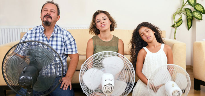 охлаждение вентилятором