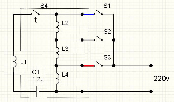 схема подключения напольного вентилятора 3-х скоростного