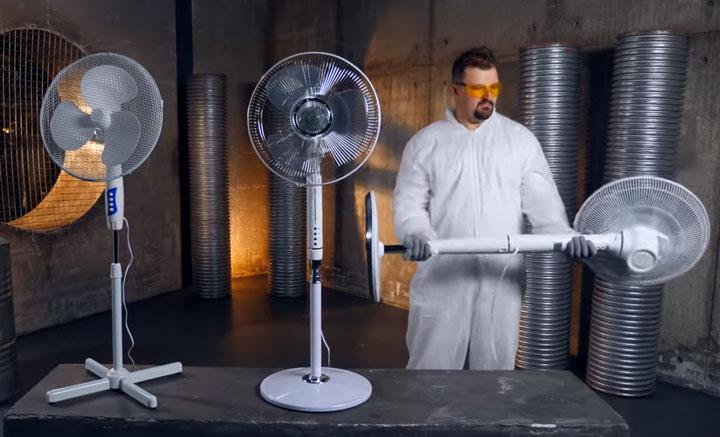 тяжелый вентилятор более качественный