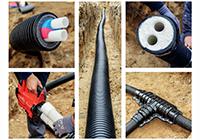 Технические характеристики теплоизолированных труб Uponor и способы их соединения.