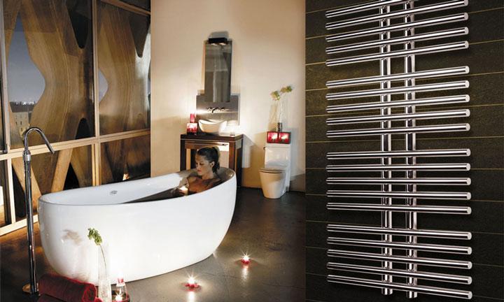 дизайн радиатор для создания комфортной температуры в ванной