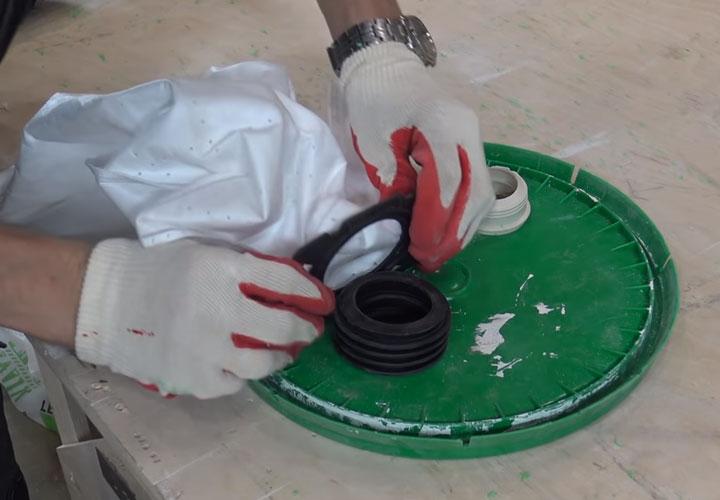 строительный пылесос из обычного бытового за 5 минут