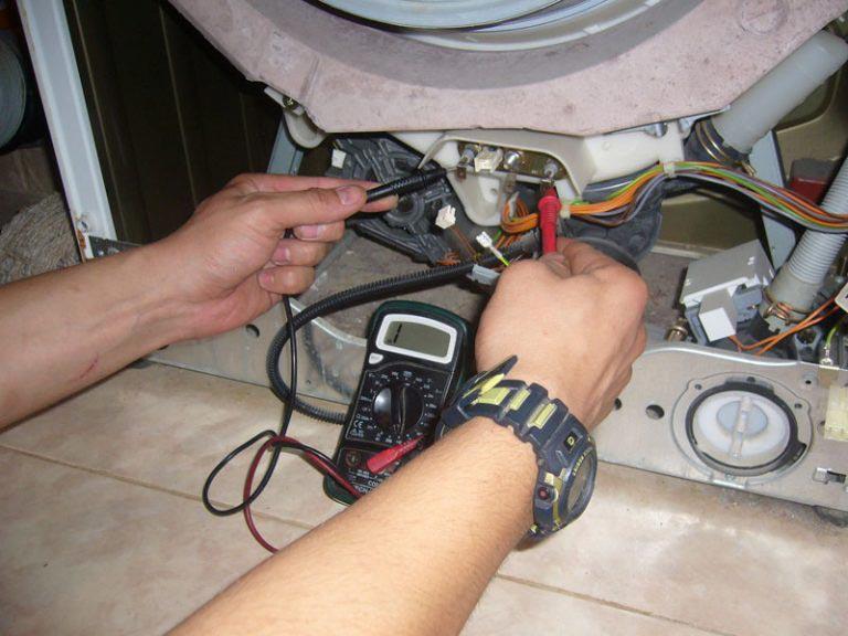 неисправный тэн в стиральной машинке обрыв спирали