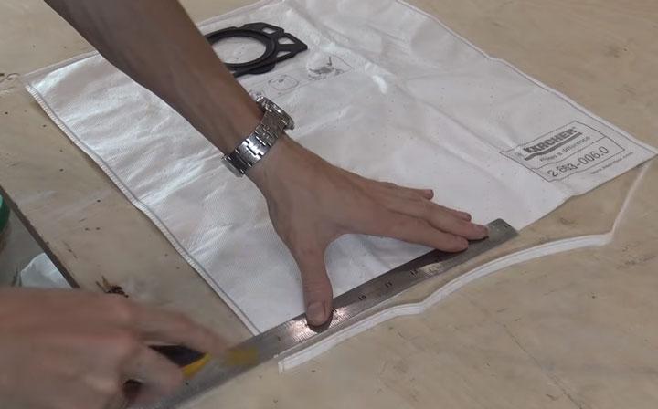 как сделать из одноразового фильтра для строительного пылесоса многоразовый
