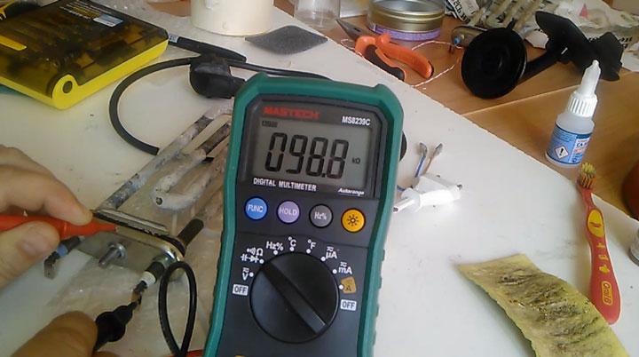 пробитый тэн в стиральной машинке проверка мультиметром