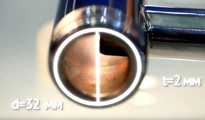 минимальная толщина стенок трубок у водяного полотенцесушителя