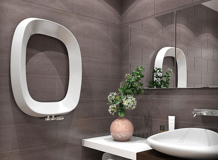 дизайн радиатор в ванной комнате
