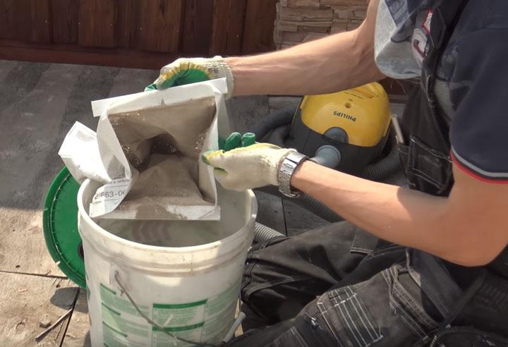 сколько и какую пыль собирает строительный пылесос переделанный из бытового
