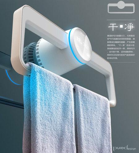 электрический полотенцесушитель электронный