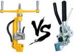 Сравнение и обзор двух натяжителей бандажной ленты СИП — какой лучше и почему.