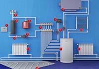 Схемы подключения водяного теплого пола к системе отопления — сравнение и выбор лучшей.