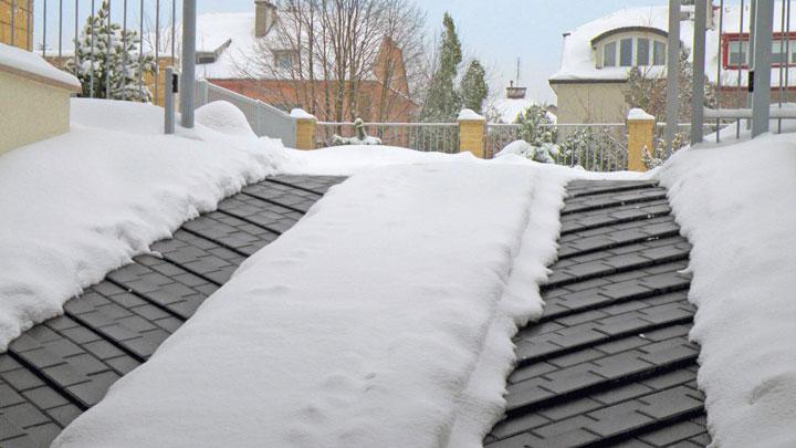 чистые ступеньки при теплых полах на улице