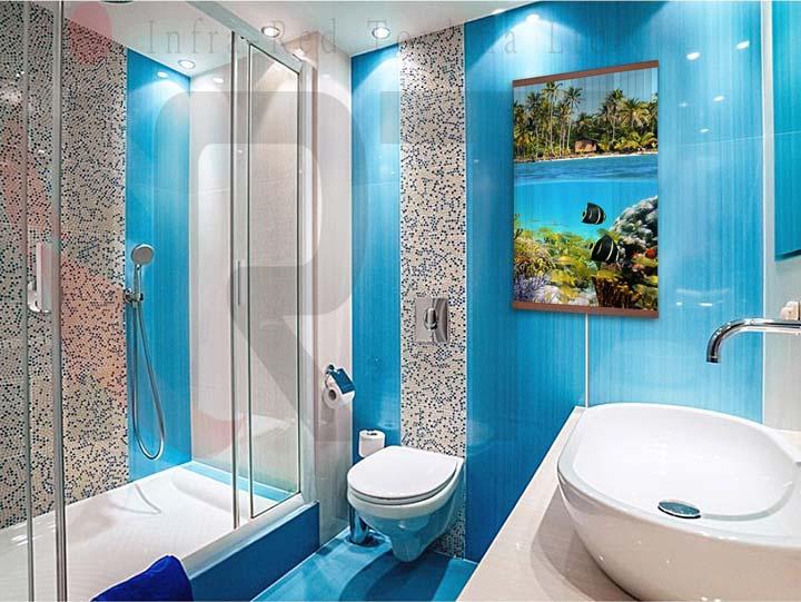 карттина обогреватель в ванной комнате можно ли там вешать