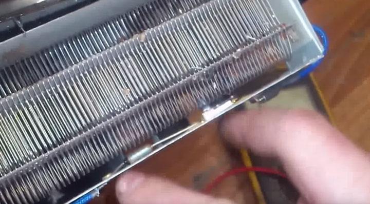 расположение термозащиты в керамических тепловентиляторах