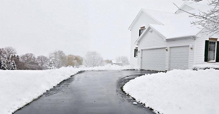 обогрев дорожек теплым полом перед домом и система снеготаяния