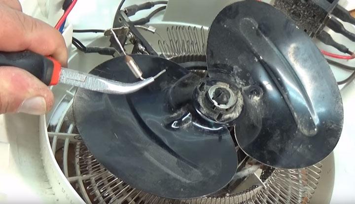 как правильно менять и паять термопредохранитель на тепловентиляторе
