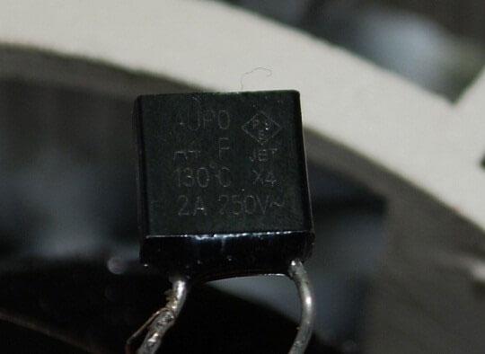 термореле для защиты обмоток мотора в тепловентиляторе
