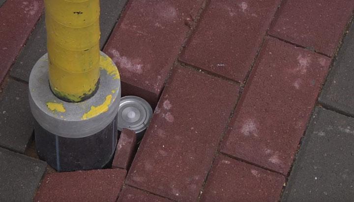 датчик осадков на теплых полах на улице