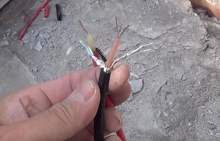 одножильный и двухжильный резистивный кабель для обогрева ступенек и дорожек на улице