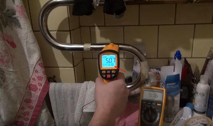 как померить температуру пирометром с использованием коэффициента излучения