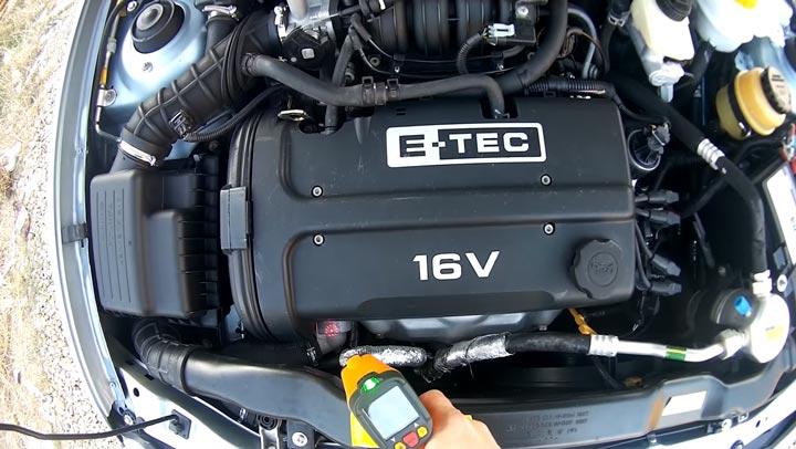 почему греется двигатель машины как проверить пирометром