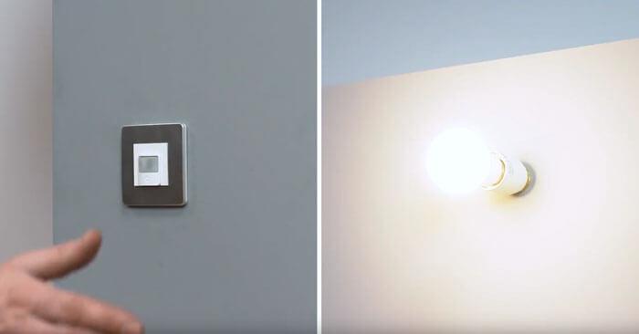 настенный датчик движения от Шнайдер электрик