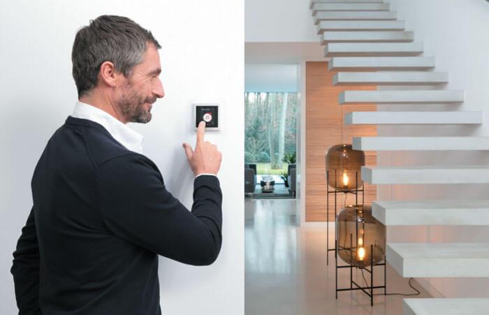 розетка термостат управление микроклиматом в квартире