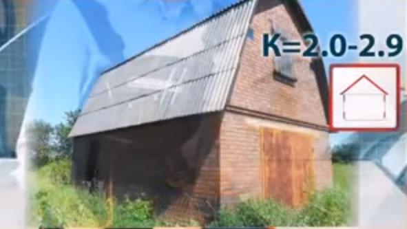 коэффициент для тепловой пушки прогрев зданий стеной в один кирпич