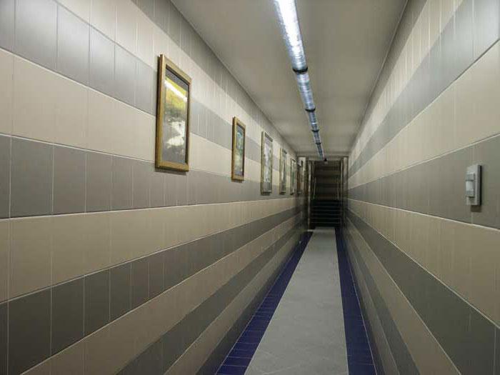 датчик освещения в длинном коридоре