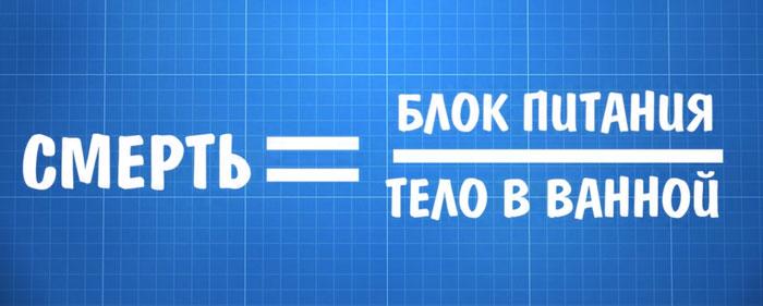 формула закона Ома для ванной комнаты