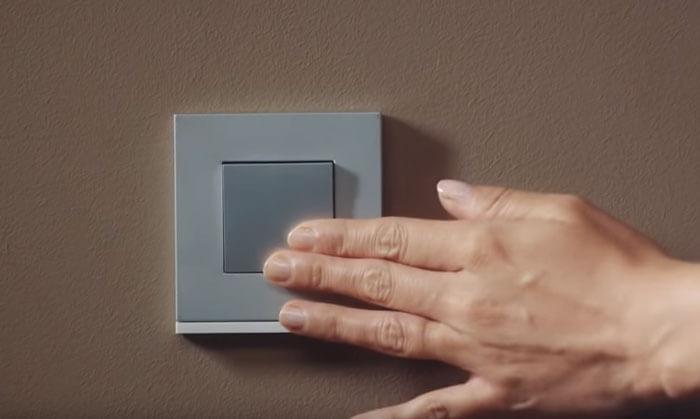 умная кнопка для управления освещением