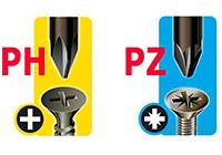 Отличие Pz от Ph — универсальная отвертка электрика Pz/fl и Ph/s применение и особенности.
