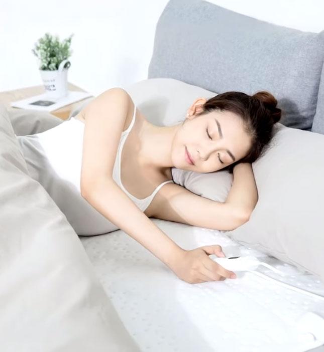 включение и управление одеялом с подогревом от Xiaomi