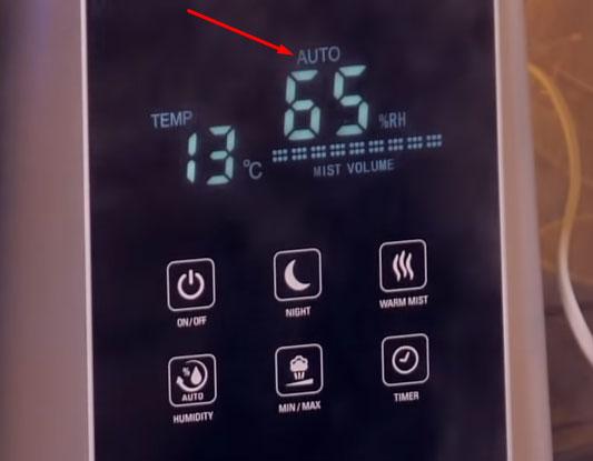 авторежим как работает в увлажнителях воздуха