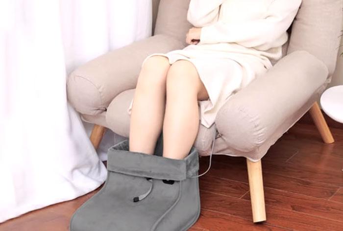 валенок с подогревом для обоих ног