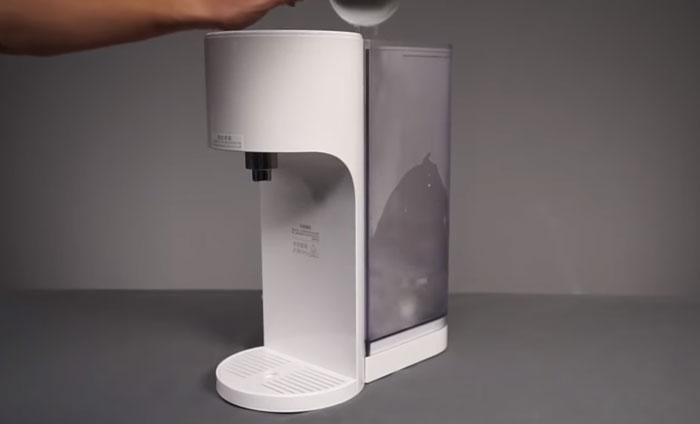 когда подливать воду в термопот Xiaomi