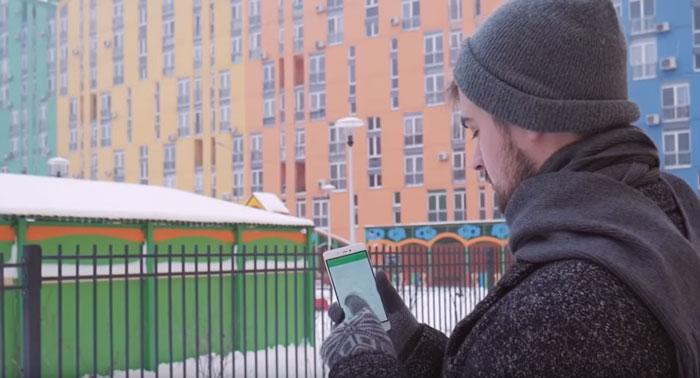 зимние перчатки для работы со смартфоном
