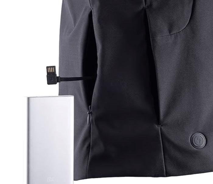 подключение кабеля обогрева на куртке Xiaomi