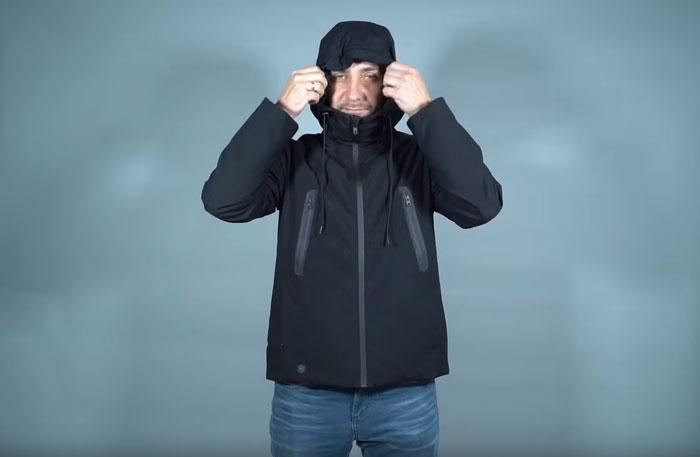 капюшон для защиты головы куртки Xiaomi