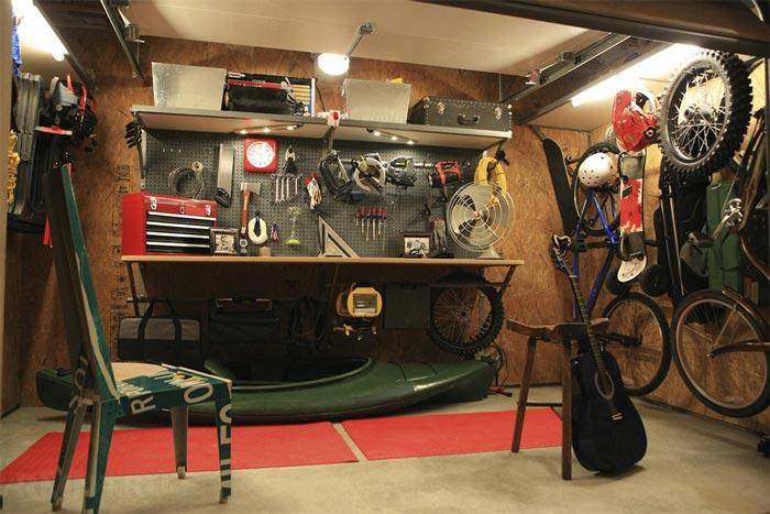 теплый гараж для хобби