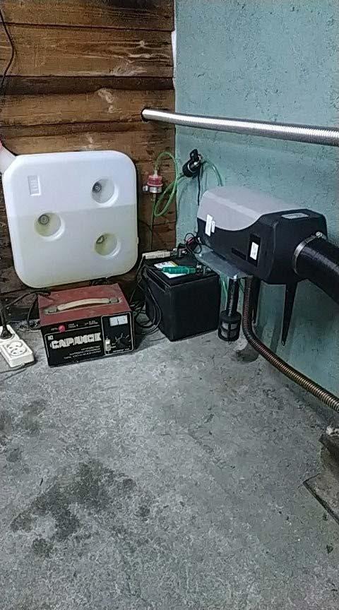 отопление китайской вебастой гаража