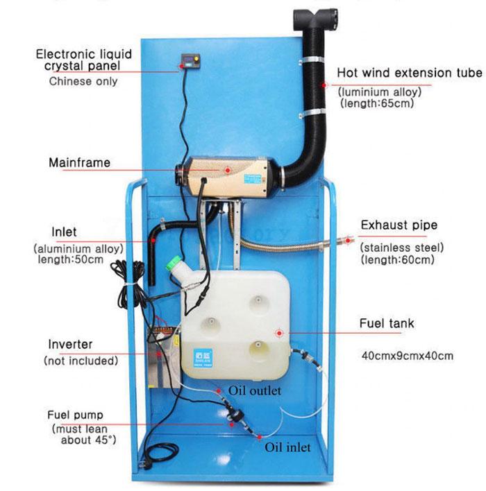 как нужно располагать топливный насос почему под 45 градусов