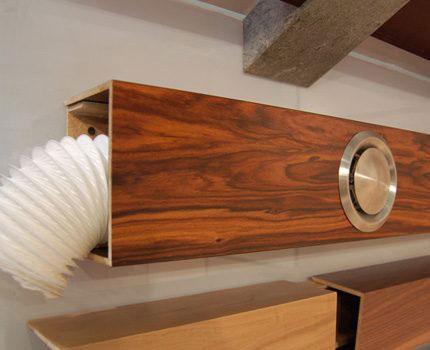 декоративный короб для воздуховода кухонной вытяжки