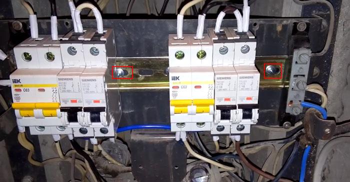 вводной выключатель вместо пакетника в этажном щитке