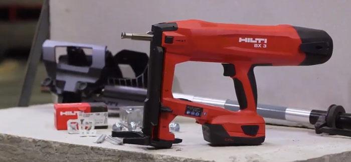 пистолет хилти BX3 нового поколения версия 2.0