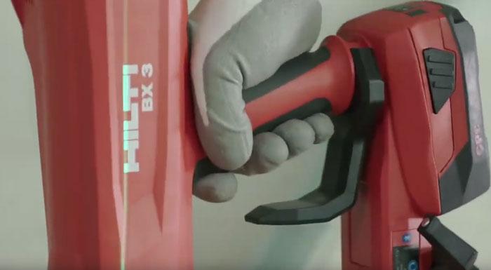 откидной крюк на монтажном пистолете хилти BX3 02