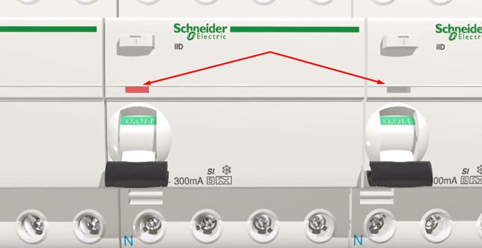 как определить отключился автомат аварийно или человеком вручную