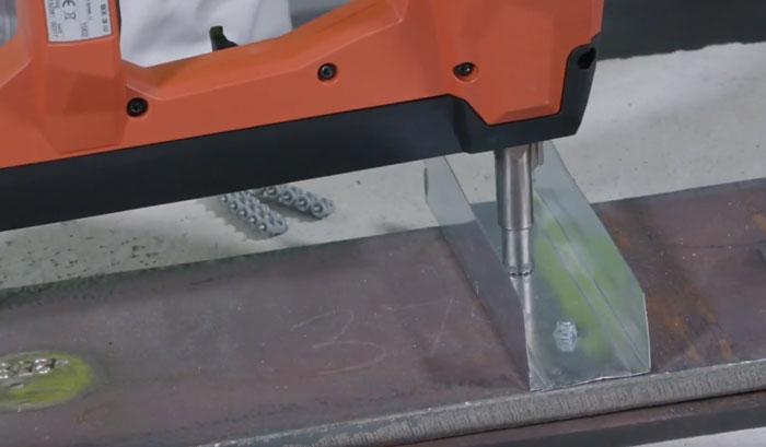 подбор гвоздей для металла на пистолете хилти BX3 02